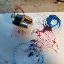 Vibrobot Paintings
