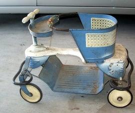 Refinish a vintage stroller