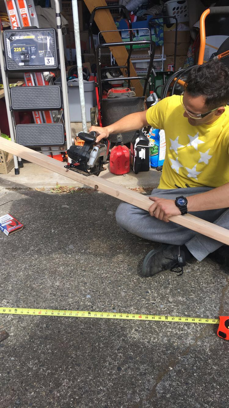 Picture of Creating the Wooden Framework