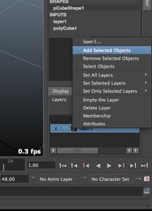 Channel Box / Layer Editor / Attribute Editor