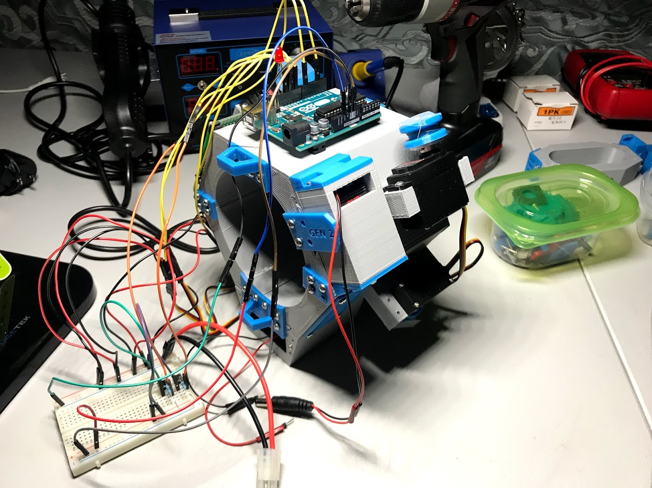Picture of Gen 2 (Physical Therapy) Robotic Device