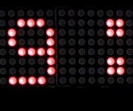 Digital Clock Using Arduino and Led Dot Matrix Display