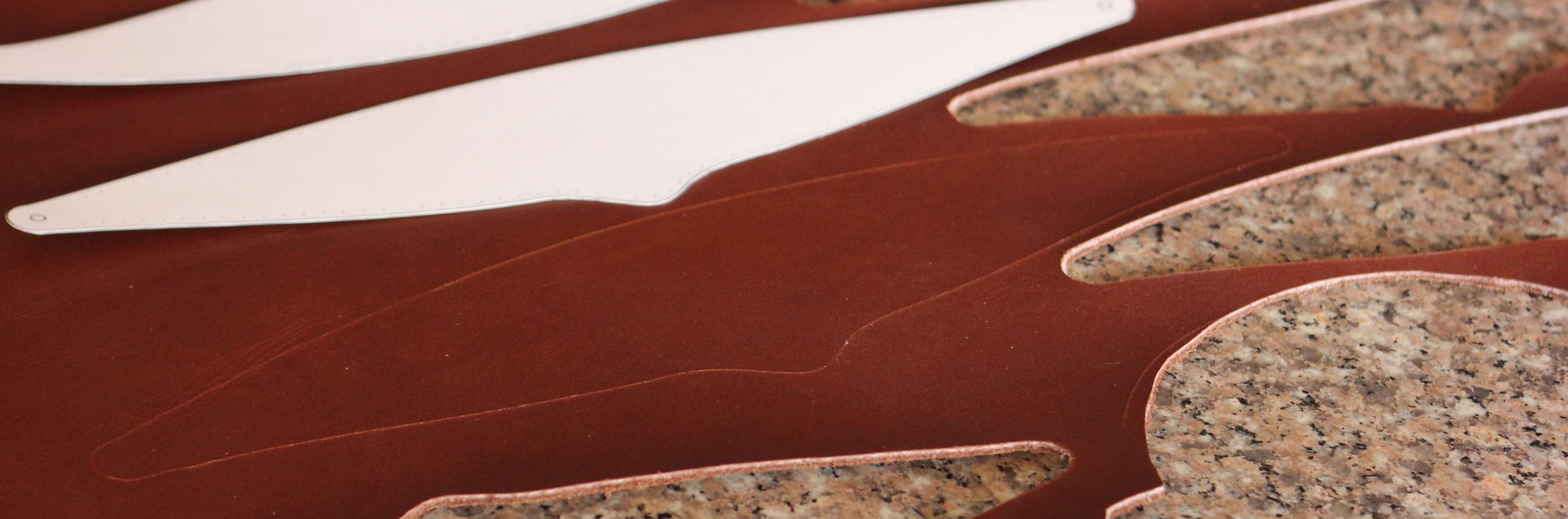 Picture of Cutting Leather and Lining