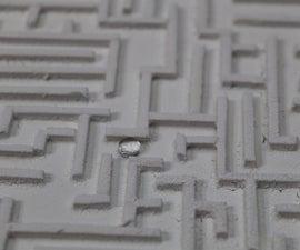 Hydrophobic Maze