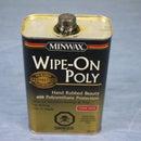 Applying Wipe-On Polyurethane