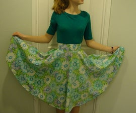 Sheet to Skirt