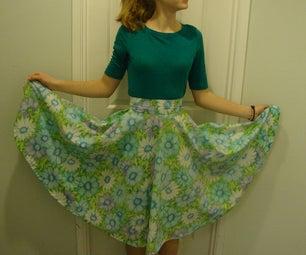 Sheet to Skirt