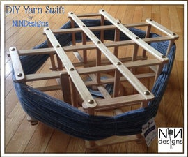 DIY Yarn Swift