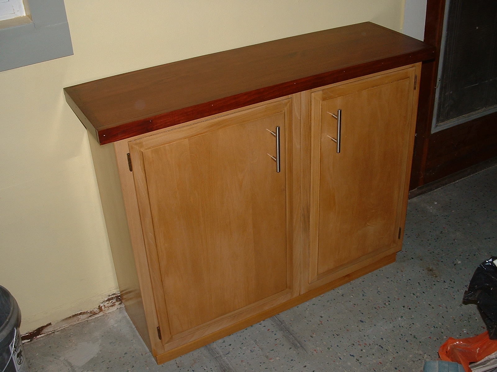 Picture of Construct a Sideboard From Kitchen Wall Cabinets