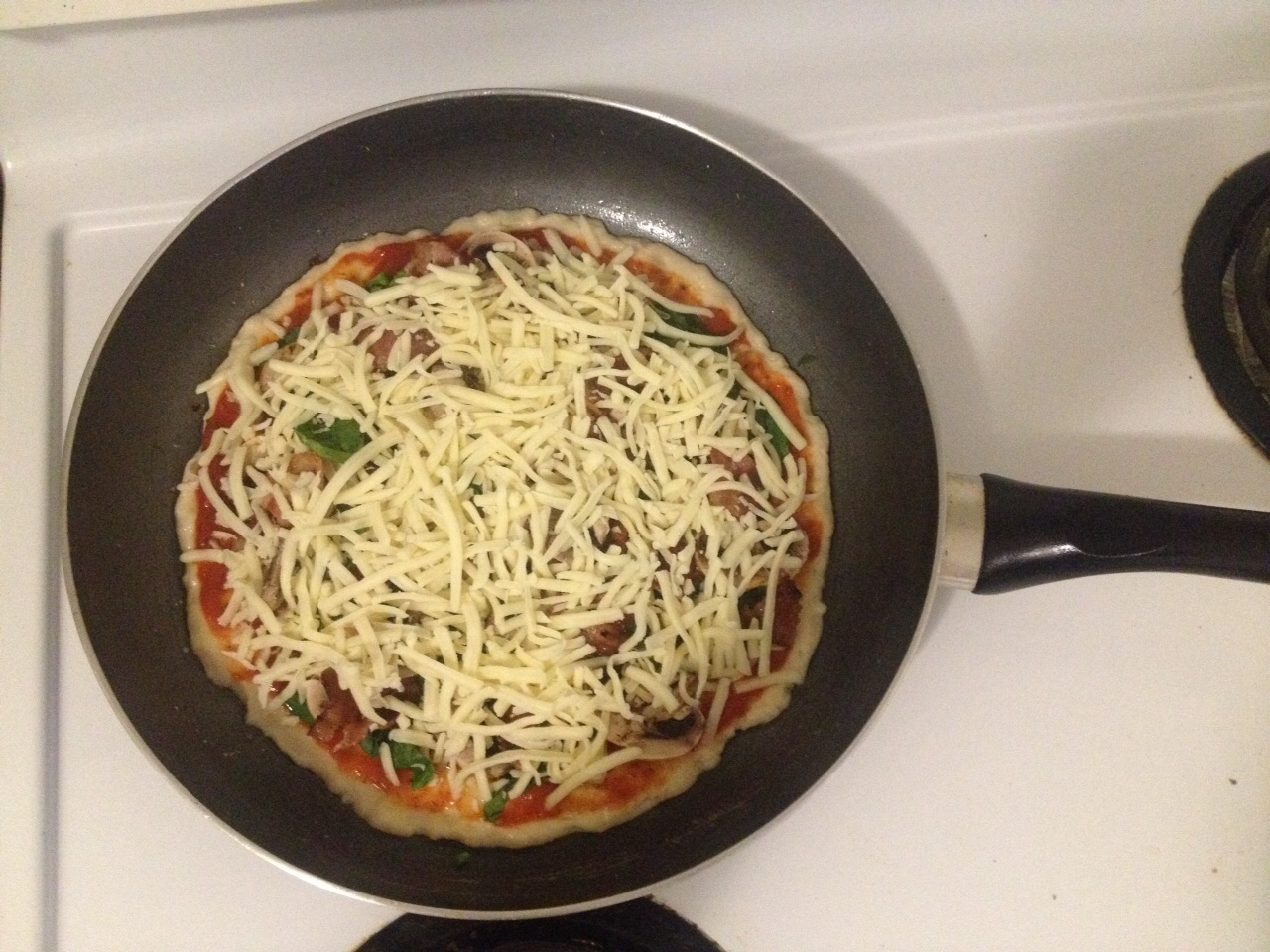 Picture of Stove Top Pizza