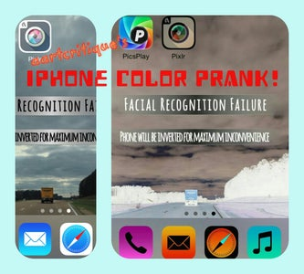 Easy IPhone Color Prank