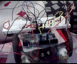 Arduino Remote Control Bot Using t.v Remote