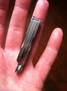 Pinkie Sized Keychain Knife From a Leatherman Micra