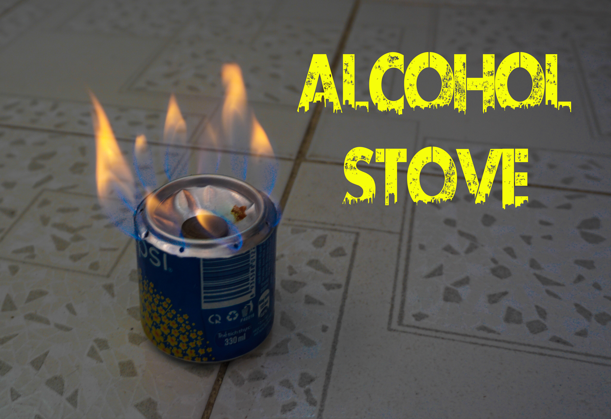 Picture of How to Make an Alcohol Stove Using Aluminium Can