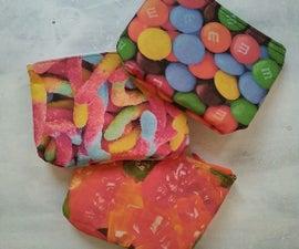 Rainbow Candy Makeup Bags