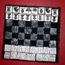 Fabric Chess / Velcro Chess