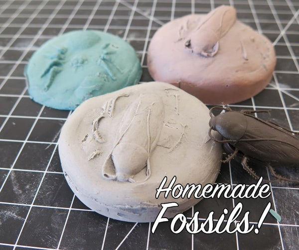 Homemade Fossils!