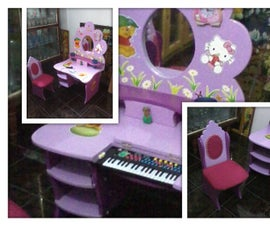 Multifunctional table and chair for kids