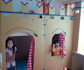 Kids' Bunk-bed Castle!