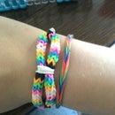 Infinity Bracelet: Rainbow Loom