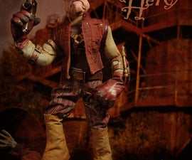 """Building """"The Bloody Hero""""  A Steampunk Superhero Puppet"""