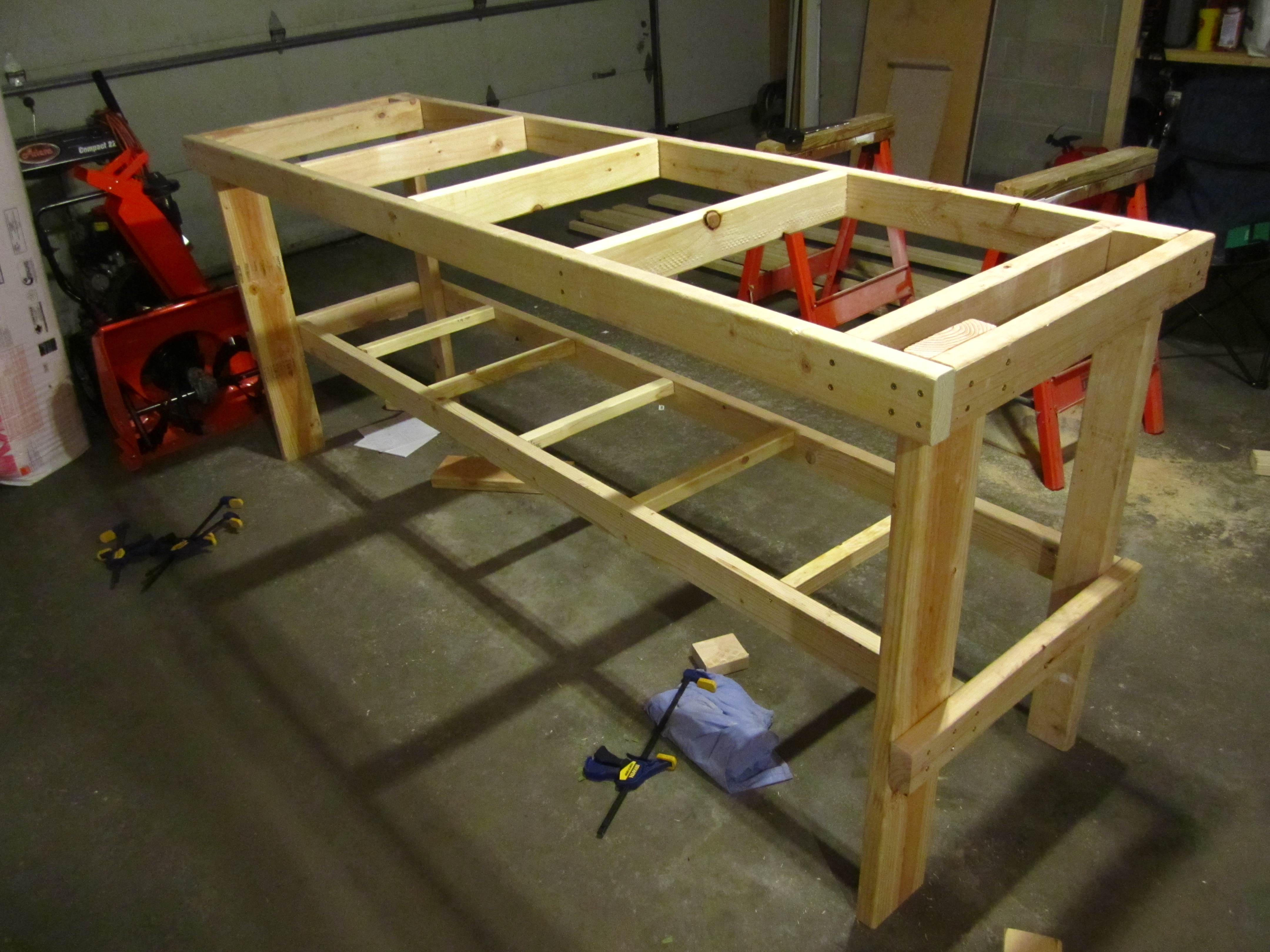 Awesome No Frills Workbench 4 Steps With Pictures Pdpeps Interior Chair Design Pdpepsorg