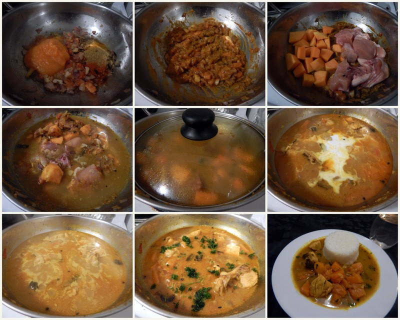Picture of Making of Curry : 2nd Step