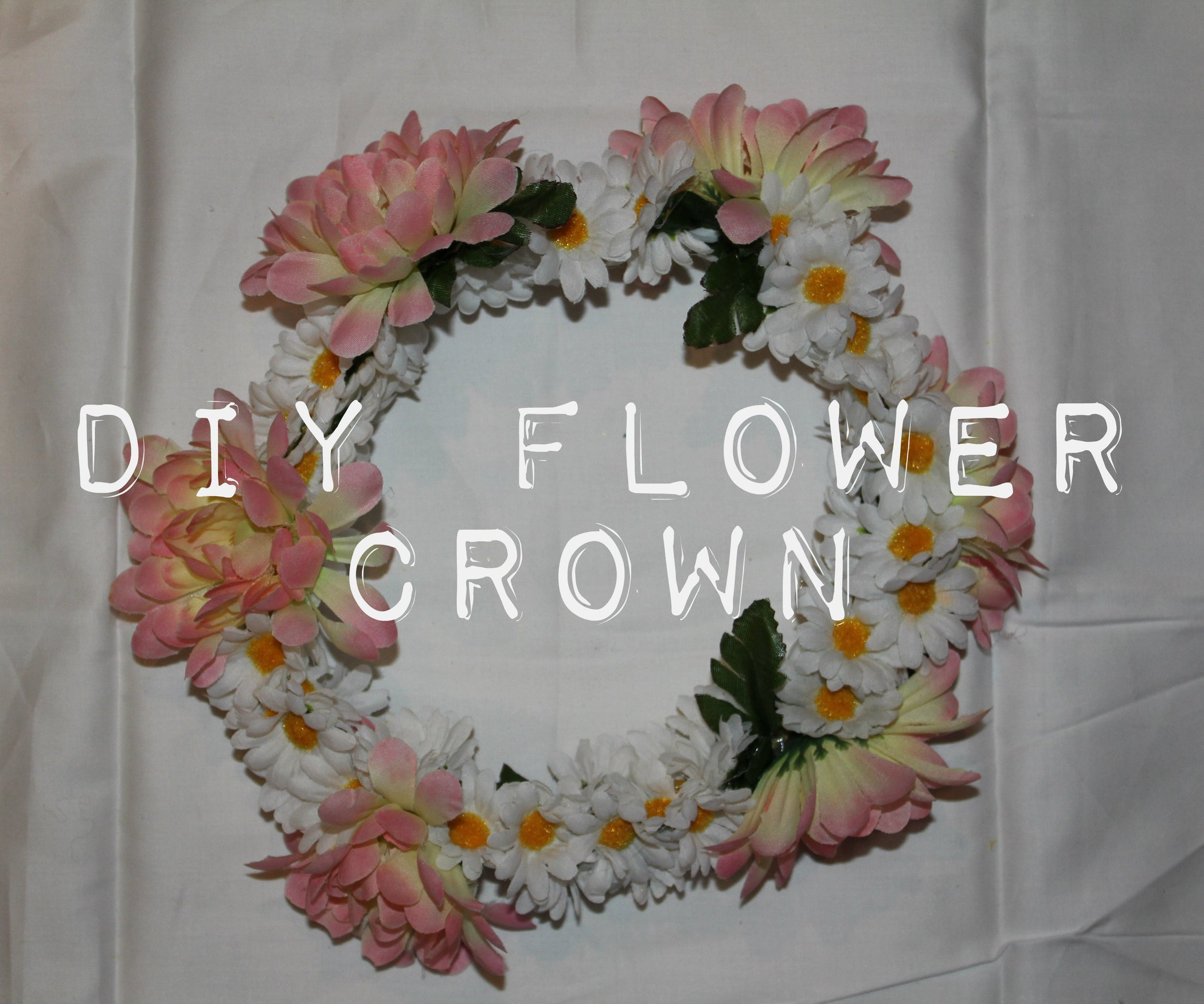 Diy Flower Crown 6 Steps With Pictures