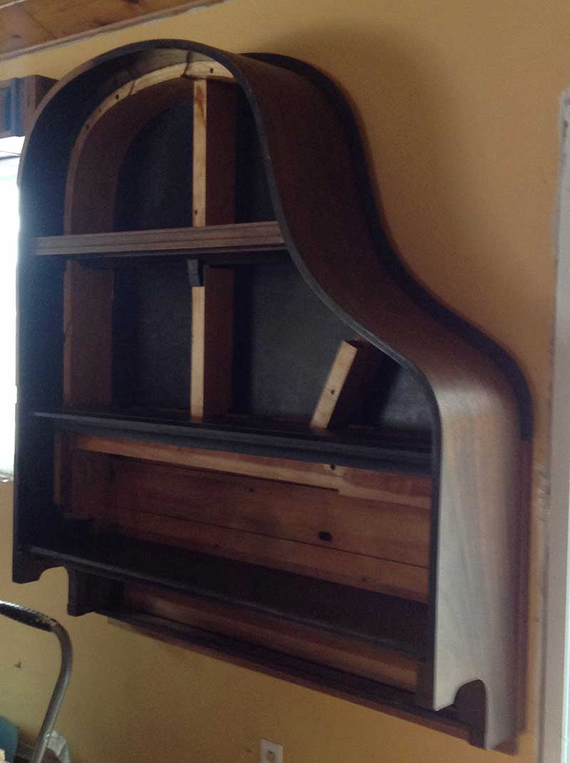 Building A Piano Bookcase For Free 12 Steps With Pictures