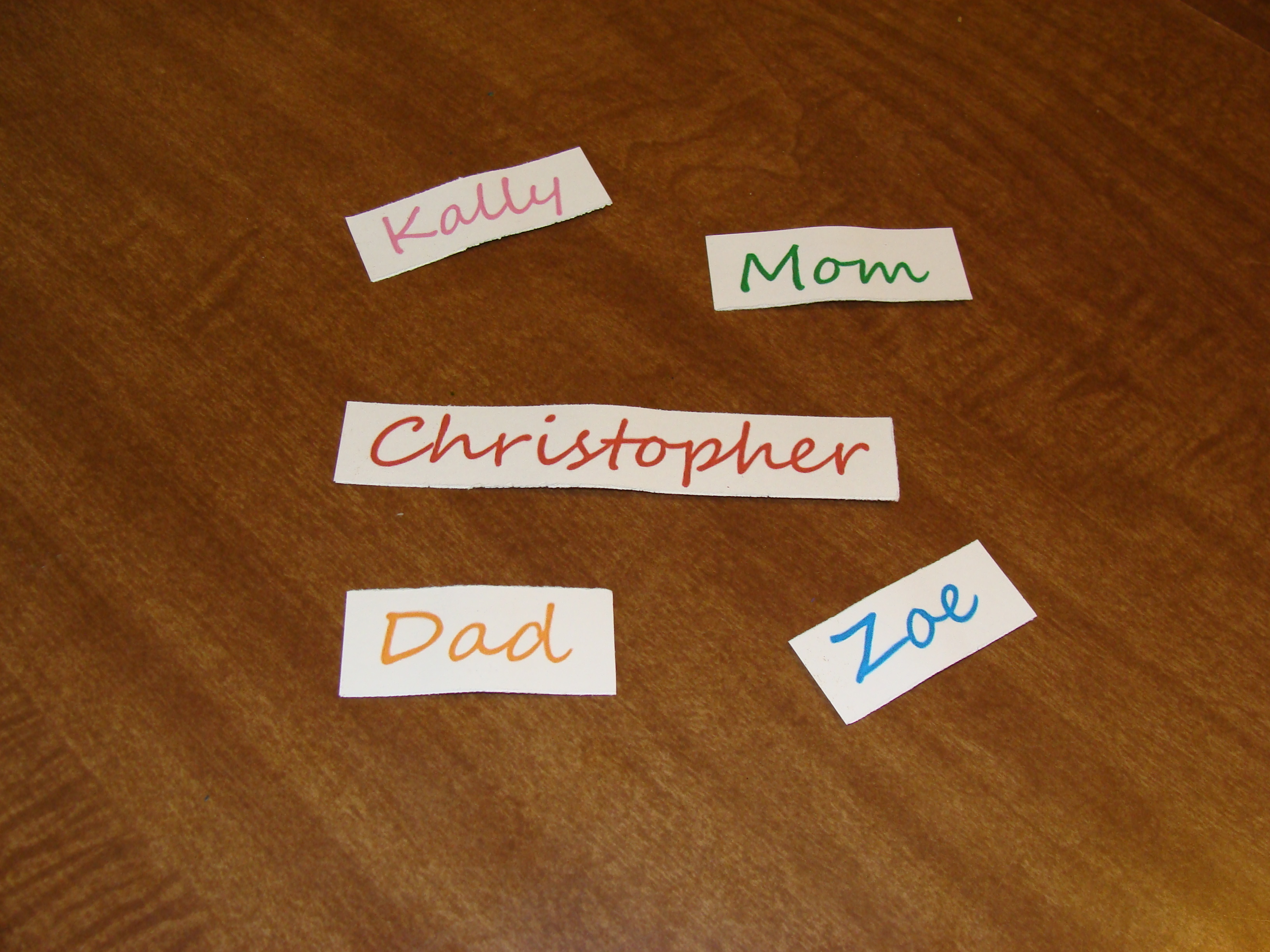 Picture of Make Name Magnets