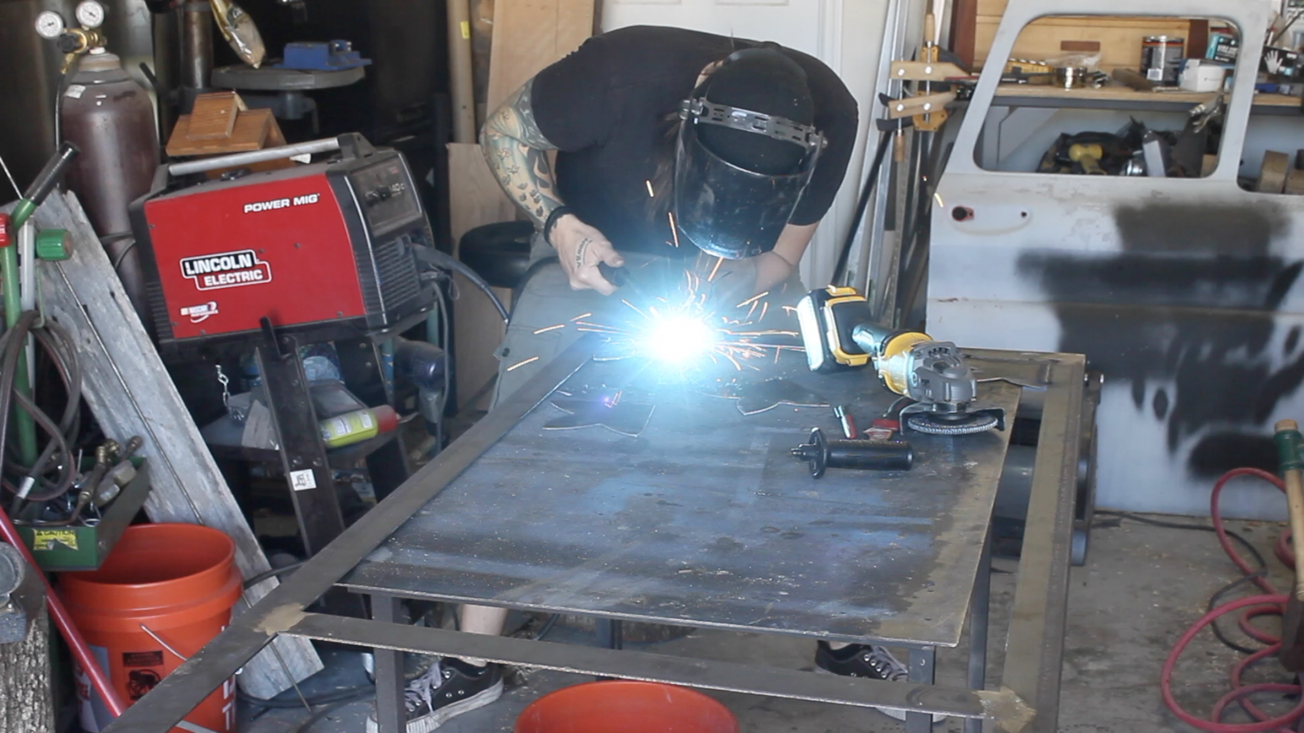 Picture of Welding the Gussets