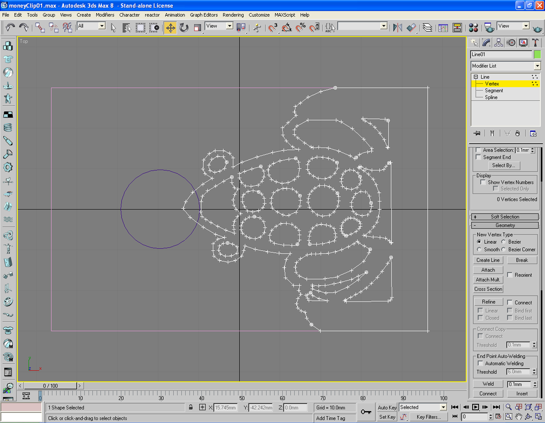 Picture of 3D Modeling, the Clipper Frog