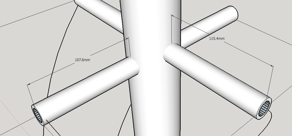 Picture of QFH Antenna - Assembling the Supports
