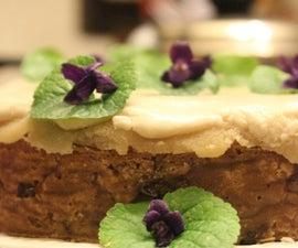 Twelfth Night Cake Baked in a Paper Hoop