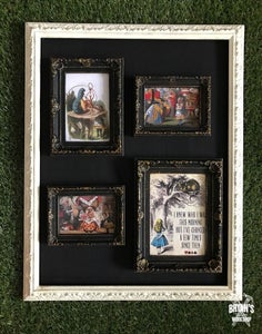 Hanging the Small Frames in the Large Frame