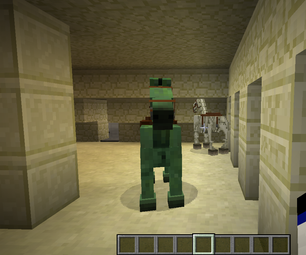 How to Spawn Undead and Skeleton Horses in Minecraft