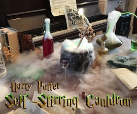Self-Stirring Cauldron From Harry Potter
