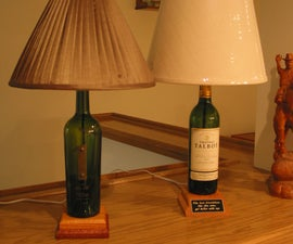 4 Easy Steps to Creating a Unique Wine Bottle Lamp