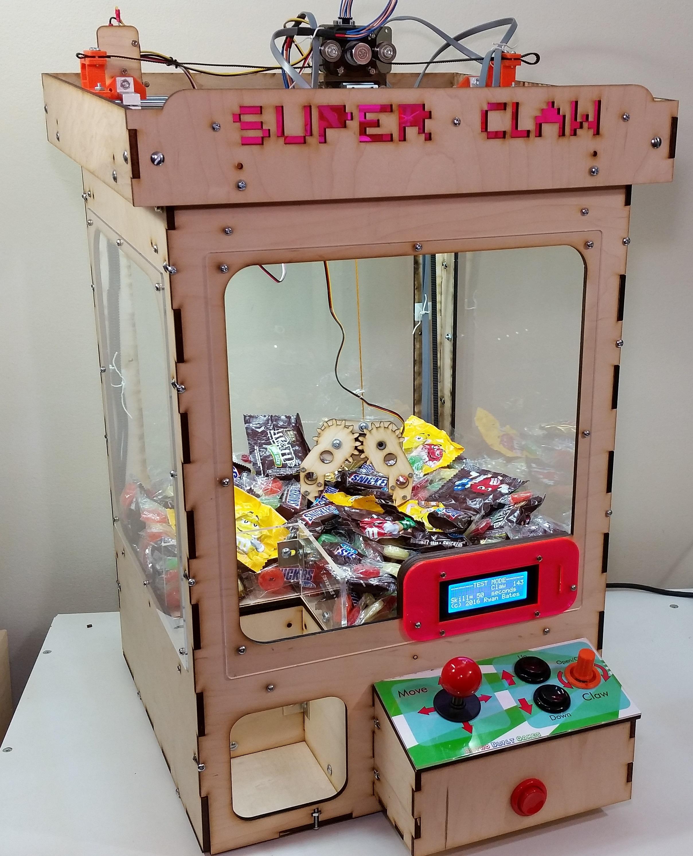 Picture of Arduino Claw Machine (Version 4)