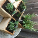 Rustic Fence Board Planter Box