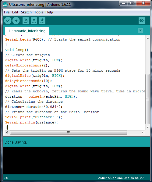 Picture of The Arduino Serial Monitor