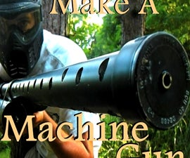 How to Make a Full Auto Airsoft Minigun [Halo Inspired Mobile Turret]