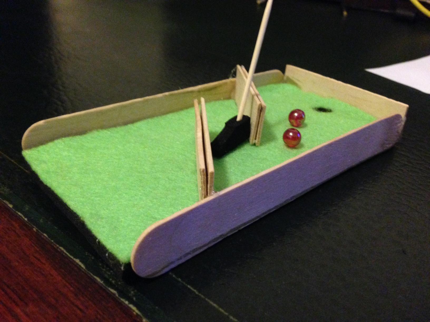 Picture of Make a Mini Golf Course