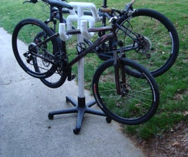 Rolling Bike Tree (Mobile PVC Cactus)