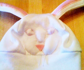 Killer Bunny Robot Hat