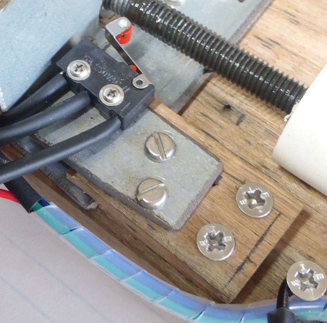 Picture of Adding the Limit Switches and Wiring