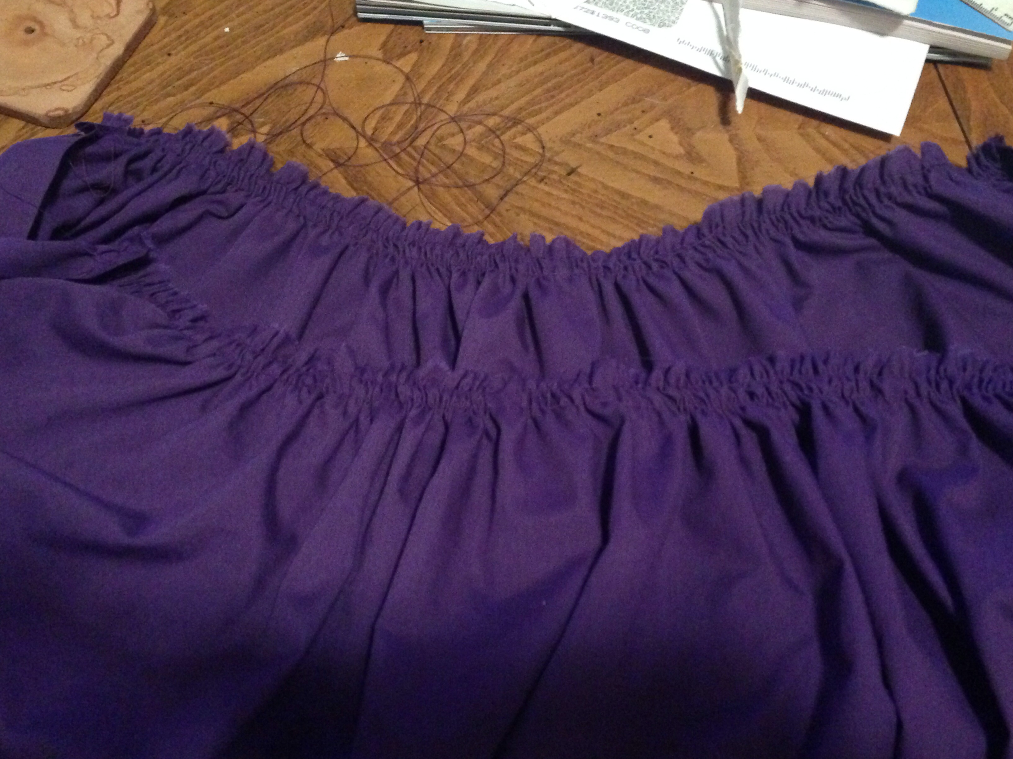 Picture of Cut and Sew the Skirt!