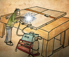 Make a Big Metal Riveted Sliding Door [for the mad scientist in your life].