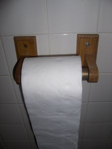 New Toilet Roll on the Holder