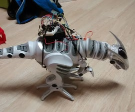 Voice-controlled Robot Raptor